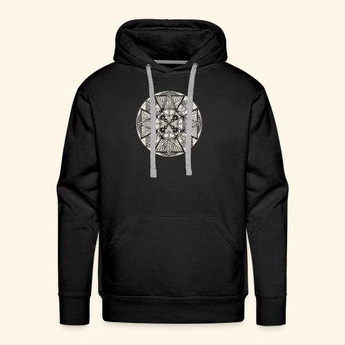 Mandala The Power of potency - Men's Premium Hoodie