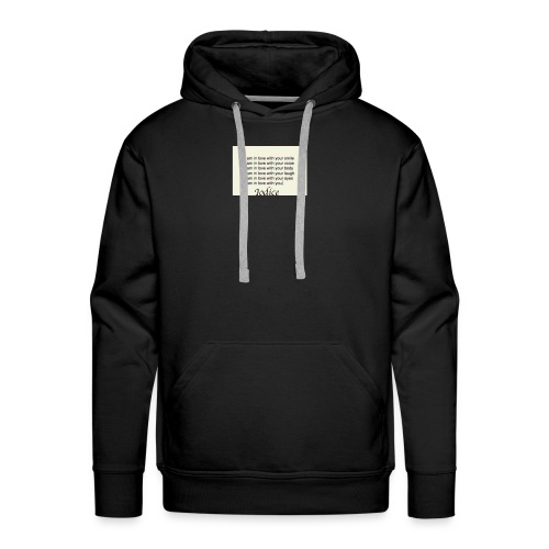 Love with you - Men's Premium Hoodie