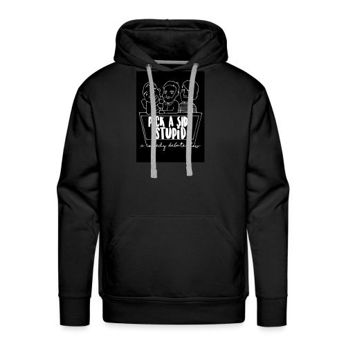 black logo - Men's Premium Hoodie