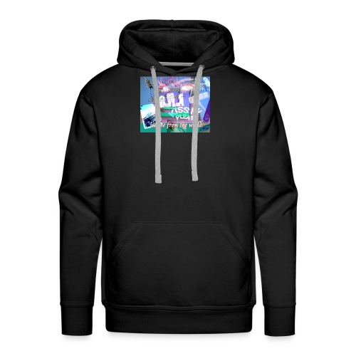 ISOLATE FROM THE WORLD - Men's Premium Hoodie