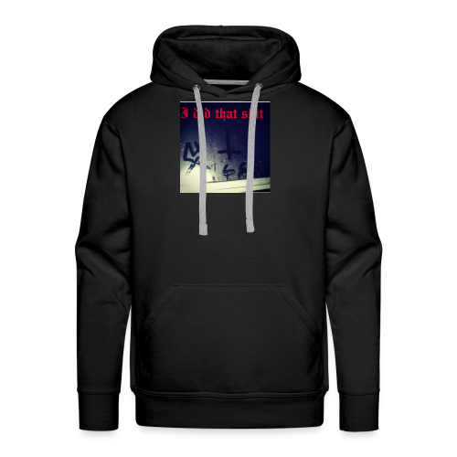 Hellbound 666 - Men's Premium Hoodie