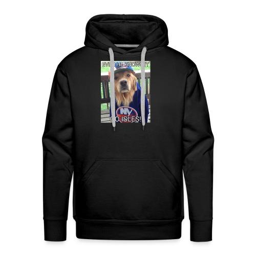 NY Islanders Dog Meme - Men's Premium Hoodie