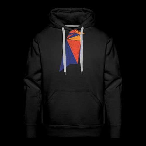 Ravencoin RVN Bird Logo (Worn Look) - Men's Premium Hoodie