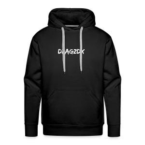 Dragzdx Text logo 1 - Men's Premium Hoodie