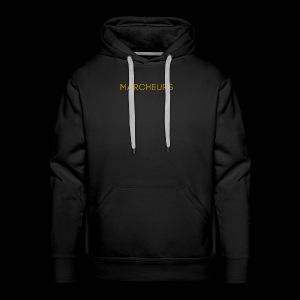 Marcheurs Gold - Men's Premium Hoodie