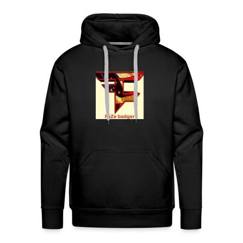 FaZe badger merch - Men's Premium Hoodie