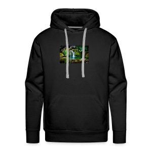 waterfall wallpaper desktop - Men's Premium Hoodie
