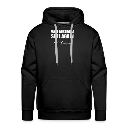 MAKE AUSTRALIA SAFE AGAIN - Men's Premium Hoodie
