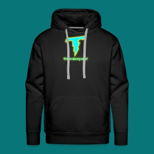 Thunder Pals Logo And Text - Men's Premium Hoodie