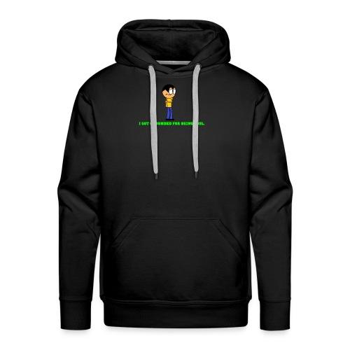 shirt design 2 - Men's Premium Hoodie