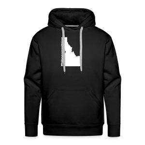 Hike Something Idaho - Men's Premium Hoodie