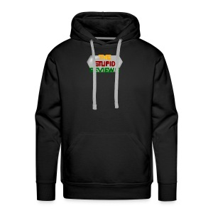 The Stupid Reviews Title - Men's Premium Hoodie