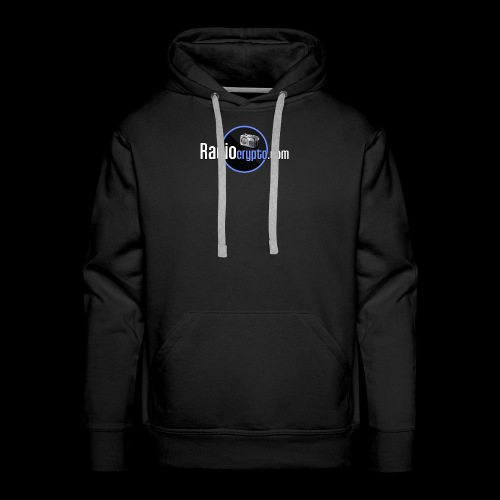 RadioCrypto Logo 1 - Men's Premium Hoodie