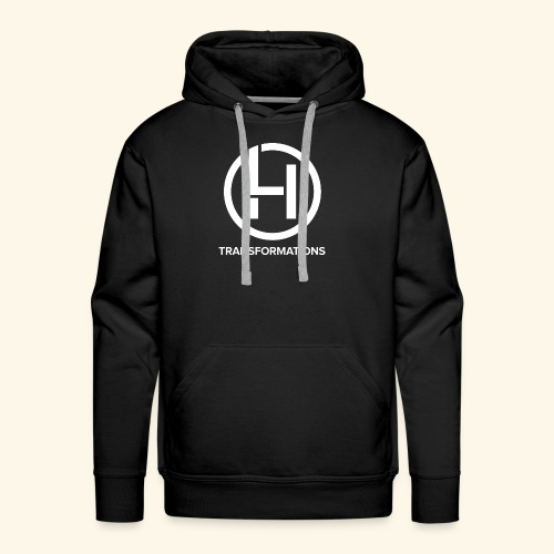 All Black Line - Men's Premium Hoodie