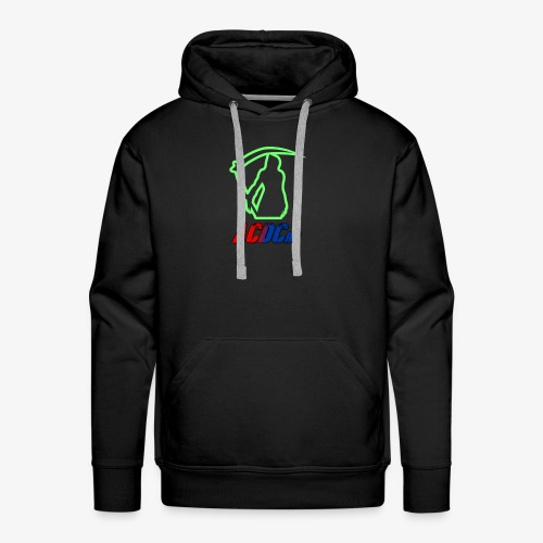 Green Stalker ACDCrp Logo - Men's Premium Hoodie