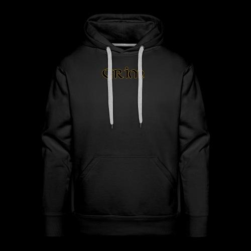 Grim Gold edge black interior - Men's Premium Hoodie