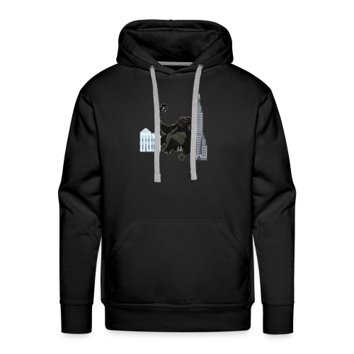 King Kong vloging - Men's Premium Hoodie