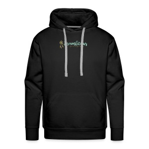 Dreambitious-Dynasty-Logo-MintGold_-1- - Men's Premium Hoodie