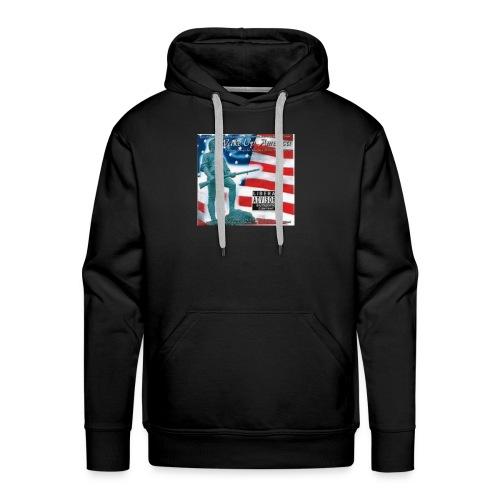 PATRIOT WAKE UP AMERICA - Men's Premium Hoodie