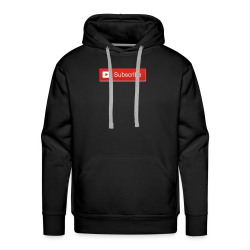 youtube_subscribe_button - Men's Premium Hoodie