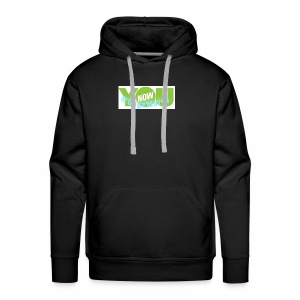 Younow logo - Men's Premium Hoodie