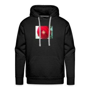 The red flower - Men's Premium Hoodie
