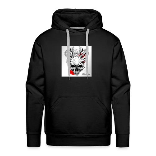 zt flameskull 01 - Men's Premium Hoodie