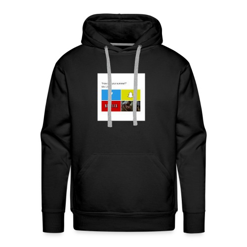 First shirt - Men's Premium Hoodie