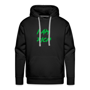 I AM RICH (WASTE YOUR MONEY) - Men's Premium Hoodie