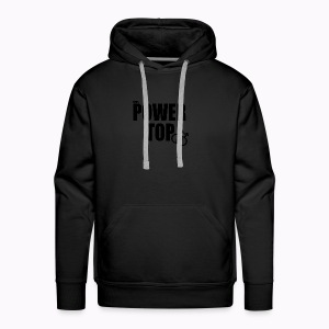 100% Power Top - Men's Premium Hoodie