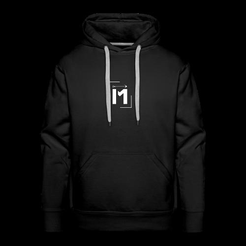 MADE white BrstPKT emblem - Men's Premium Hoodie