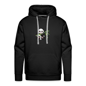 Cute And Super Fat Panda - Men's Premium Hoodie