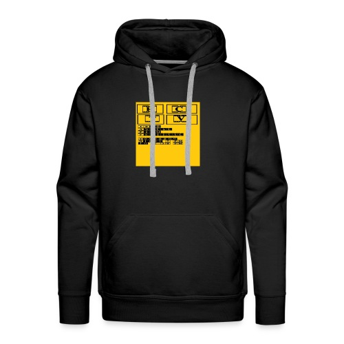 T Shirt 4 Front - Men's Premium Hoodie
