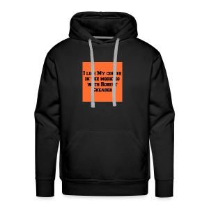 coffee with robert cheader - Men's Premium Hoodie