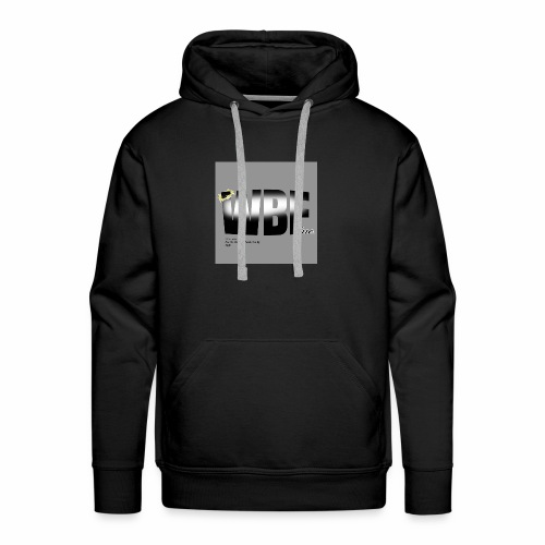 walking by faith and scripture - Men's Premium Hoodie