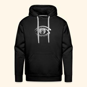 Society of Esoteric Thinkers white logo - Men's Premium Hoodie