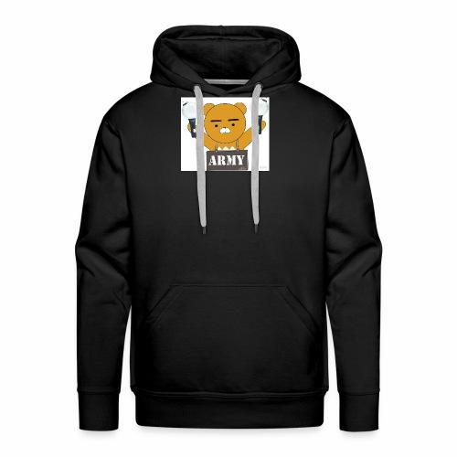 bts bear - Men's Premium Hoodie