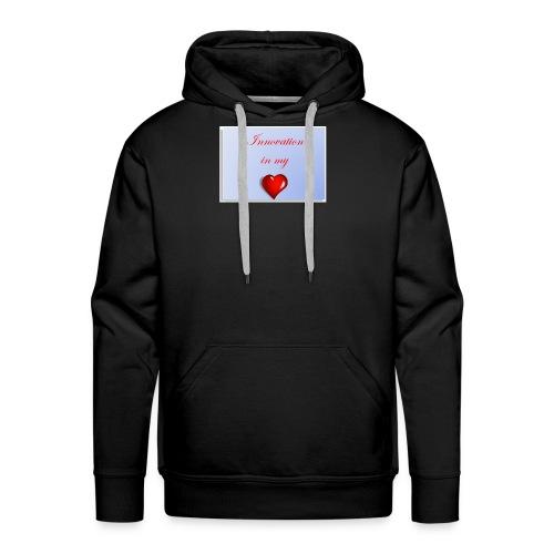Innovation In my Heart - Men's Premium Hoodie