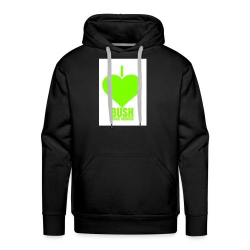 I Love Bush Music Records - Men's Premium Hoodie