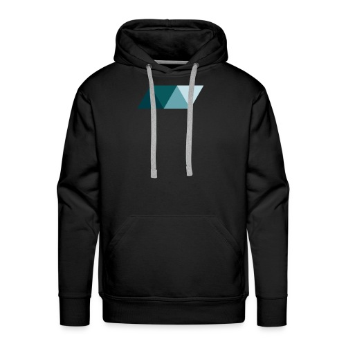 Rhombus 3 - Men's Premium Hoodie