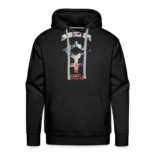 Mantis and the Prayer- Symbol Design - Men's Premium Hoodie