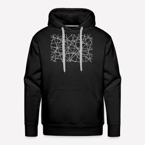 Scratch Lines - Men's Premium Hoodie