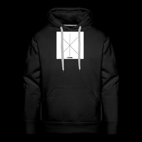 Snowy Logo - Men's Premium Hoodie