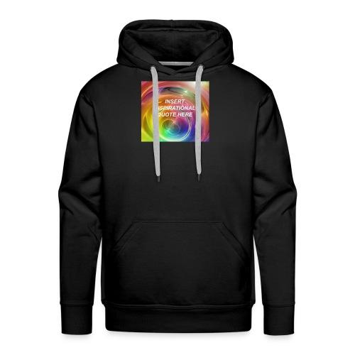 Insert rainbow here - Men's Premium Hoodie