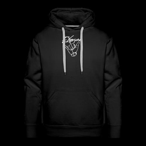 Exposure Hoodie Logo - Men's Premium Hoodie