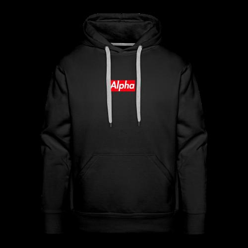 Alpha Squad - Men's Premium Hoodie