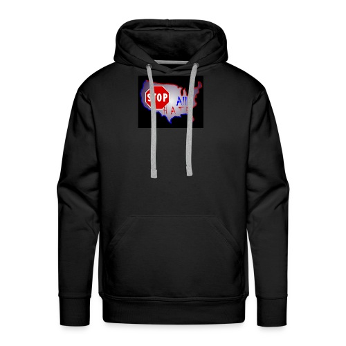 STOP All The HATE - Men's Premium Hoodie
