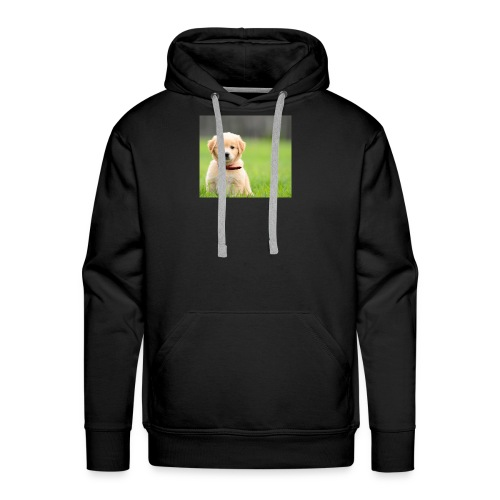 Cute puppy Clothing dogs pets cute fur happy - Men's Premium Hoodie