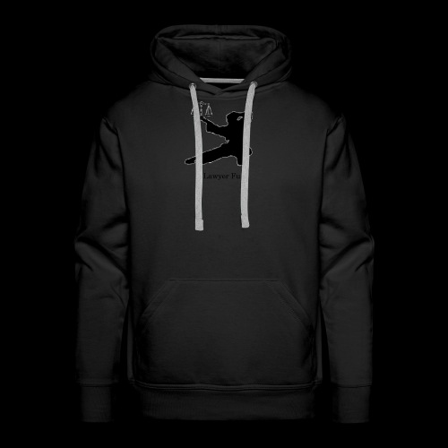 Lawyer Fu Name and Logo - Men's Premium Hoodie