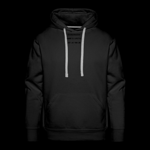 Gaming is a lifestyle - Men's Premium Hoodie